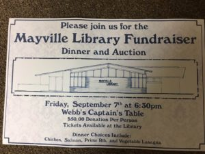 Annual Fundraising Dinner and Auction